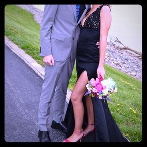 Sherri Hill Black dress; size 2